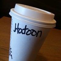 Photo taken at Starbucks by Hatoon S. on 3/4/2013