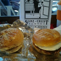 Photo taken at Some Crust Bakery by Jenny L. on 10/28/2012