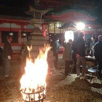 Photo taken at 春日神社 by Wataru T. on 12/31/2013