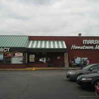 Photo taken at Marsh Supermarket by Kelly G W. on 9/16/2013