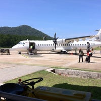 Photo taken at Redang Island Airport (RDN) by Shireen S. on 5/25/2013
