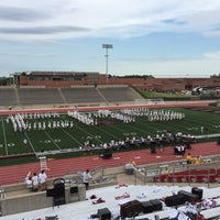 Photo taken at Buddy Echols Field by Brenda N. on 9/11/2015