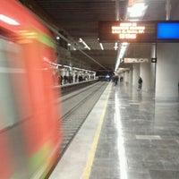 Photo taken at Metro Mixcoac (Líneas 7 y 12) by Cristian D. on 11/18/2012
