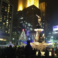 Photo taken at Fountain Square by Amanda D. on 1/2/2013