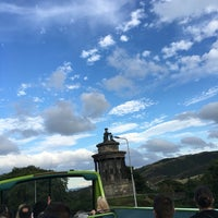 Photo taken at Burns Monument by Arzu K. on 8/30/2016