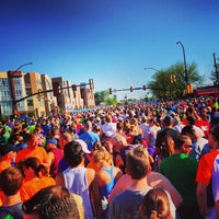 Photo taken at Bolder Boulder 10K Race by Matt M. on 5/27/2013