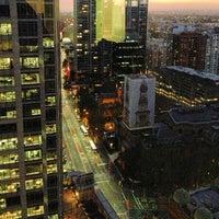 Photo taken at Hilton Sydney by Joanna T. on 2/7/2013