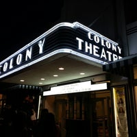 Photo taken at Colony Theater by Boris on 4/20/2013