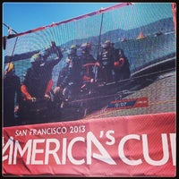 Photo taken at America's Cup Pavilion by Brien W. on 9/14/2013
