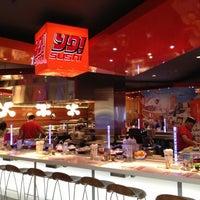 Photo taken at Yo! Sushi by Leisha N. on 9/30/2012