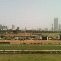 Photo taken at Mahalaxmi Race Course (Royal Western India Turf Club) by Adil J. on 4/10/2013