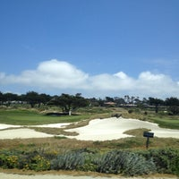 Photo taken at Spanish Bay Golf Course by Antonella P. on 5/25/2013