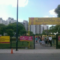 Photo taken at Parque Indoamericano by Buenos Aires on 1/18/2014