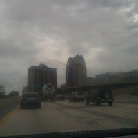 Photo taken at Interstate 4 & FL State Route 408 by Anthony D. on 10/3/2012