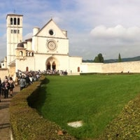 Photo taken at Basilica di San Francesco by Marco B. on 10/27/2013