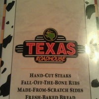 Photo taken at Texas Roadhouse by Randy F. on 10/14/2012