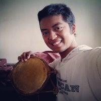Photo taken at Ruang Kesenian Gelanggang UGM by Sela A. on 7/19/2014