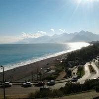 Photo taken at Beach Park by Çağlar T. on 2/20/2013