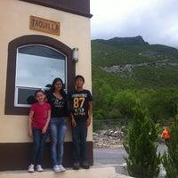 Photo taken at Grutas de Bustamante by Victor O. on 7/20/2013