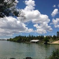 Photo taken at Parque Ecoturistico San Miguel Regla by Adriana G. on 6/1/2013