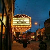 Photo taken at Victory Gardens Biograph Theater by Matt M. on 10/6/2014