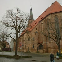 Photo taken at Marktplatz by Fritz on 1/4/2014