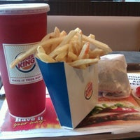 Photo taken at Burger King by Hazmie F. on 12/26/2012