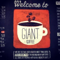 Photo taken at Giant Coffee by Chandra on 6/25/2013