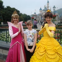 Photo taken at Hong Kong Disneyland by Valery L. on 3/17/2013
