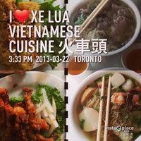 Photo taken at Xe Lua Vietnamese Cuisine 火車頭 by Tet B. on 3/22/2013