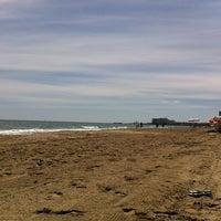 Photo taken at Playa del Tabal_La Manga by Pedro M. on 5/1/2014