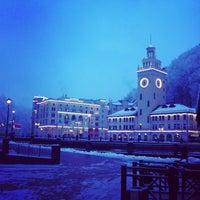 Photo taken at Rosa Khutor Ski Resort by Maxim S. on 2/2/2013