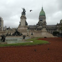 Photo taken at Plaza del Congreso by Facundo S. on 9/16/2013