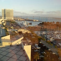 Photo taken at San Diego Marriott Convention Center Skywalk by James B. on 2/24/2013