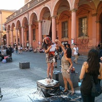 Photo taken at Piazza Verdi by Gianluca G. on 6/13/2013