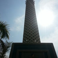 Photo taken at Cairo Tower by Lara H. on 9/30/2012