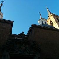Photo taken at Iglesia de San Nicolás de los Servitas by Marie-Chantale S. on 7/30/2014