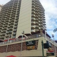 Photo taken at Aston Waikiki Beach Hotel by Lindsay C. on 4/12/2013