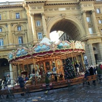 Photo taken at Piazza della Repubblica by Михаил Г. on 1/4/2013