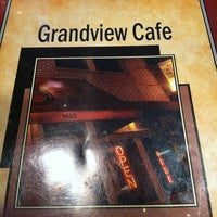 Photo taken at Grandview Cafe by Ashley J. on 2/16/2013