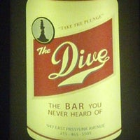 Photo taken at The Dive Bar by Eric P. on 10/4/2012