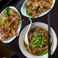 Photo taken at No. 1 Beef Noodle House by ChineseBites.com on 6/7/2016
