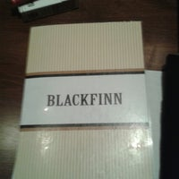 Photo taken at BlackFinn American Grille by Oscar Javier S. on 2/22/2013