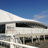 Photo taken at PACIFICO Yokohama by kaerugeko on 2/3/2013
