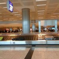 Photo taken at International Terminal Arrival by Metin O. on 3/22/2013