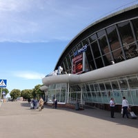 Photo taken at Terminal B (KBP) by Adam C. on 5/7/2013