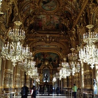 Photo taken at Place de l'Opéra by Miu *. on 12/16/2012