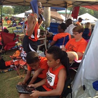 Photo taken at USF Track and Field Complex by Alisha N. on 5/24/2014