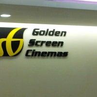 Photo taken at Golden Screen Cinemas (GSC) by Quяatu Ain D. on 11/11/2012