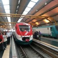 Photo taken at Fiumicino Aeroporto railway station (ZRR) by Alex♌️ on 9/28/2012